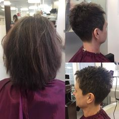 # unschlaghaarschön - New Deko Sites New Haircuts, Pearl Earrings, Hair Styles, Friday, Fashion, Hairstyle, Deco, Nice Jewelry, Nice Asses