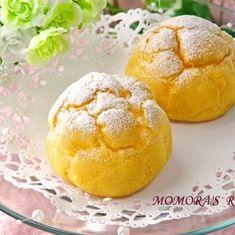 ホットケーキミックスHMとサラダオイルで簡単お菓子♪基本のフンワリまんまるシュークリーム