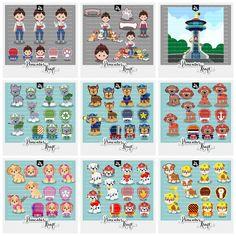 Kit Digital Clipart Patrulha de Patinhas #pawpatrol #patrulhacanina #patrulhadepatinhas #pimentaskraft #pawpatrolclipart #clipart #etsy #kitdigital #cute