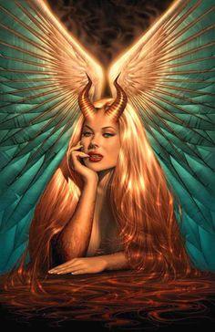 99 meilleures images du tableau diablesse en 2019 diablesse illustrations et ange de la mort - Dessin diablesse ...