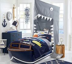 Vintage Cruiser Bed & Trundle | Pottery Barn Kids