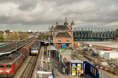 Delft Municipal Offices and Train Station - work in progress (2014)