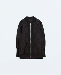 Image 6 of OVERSIZED QUILTED JACKET from Zara