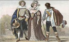 Costumes Sous le Règne De Louis XIII (1620)