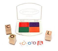 Amazon.com: Melissa & Doug Deluxe Alphabet Stamp Set: Melissa & Doug: Toys & Games