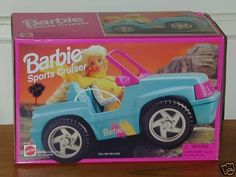 """""""Barbie 1995 Sports Cruiser SUV Jeep Car « Game Searches."""" I used to have one of these and still might"""