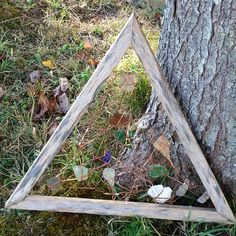 Sea Glass Triangle Suncatcher by AngelBeachBathArt on Etsy