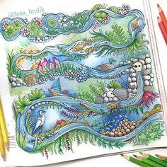 Que perfeição! ♥♥♥♥ @Regrann from @lena_brulik - #Зачарованныйлес #Enchantedforest #Таинственныйсад #ДжоаннаБэсфорд #secretgarden #JohannaBasford #Regrann #artecomoterapia #jardimsecreto #florestaencantada #arttherapy #instaart #instacoloring #coloring #coloringbook #lapisdecor #livrodecolorir #oceanoperdido #lostocean #colorirétudodebom #amocolorir