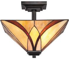 Quoizel TFAS1714VA Ceiling Light from the Asheville Collection - Art Deco Ceiling Lights - Brand Lighting Discount Lighting - Call Brand Lighting Sales 800-585-1285 to ask for your best price!
