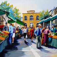 Le marché des capuçins by Christian Jequel