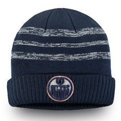 check out dce3e 55ad6 Men s Edmonton Oilers Fanatics Branded Navy Authentic Pro Clutch - Cuffed  Knit Hat, Your Price   27.99 CAD