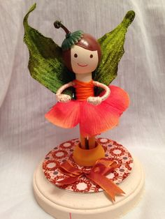 Clothespin Doll Fairy  by ColumbusCityShoeShop on Etsy