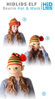Kawaii Abominable Snowman Winter Warm Hats for Women Or Men Classic Daily Skull Cap
