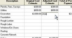 Estimating & Budgeting Worksheet Sample of Estimating Worksheet ...