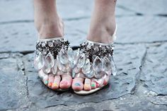 Chandelier shoes