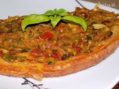 Vegetable Pizza, Quiche, Food And Drink, Appetizers, Snacks, Vegetables, Cooking, Breakfast, Kitchen