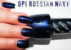 OPI Russian Navy  Fun for Winter