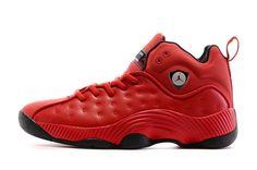 aa66c2b2e3f9 Mens Air Jordan Jumpman Team ii Shoes red black Team Jordan Shoes