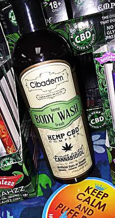 BRAND NEW!!  Cibaderm Body Wash Made from CBD Rich Hemp Oil. It's paired with detoxifying botanicals for a deep clean feeling. No Artificial Dyes, Scents, Sulfates, Parabens, and Phthalates $30