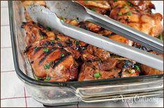 Grilled Hawaiian Chicken Thighs