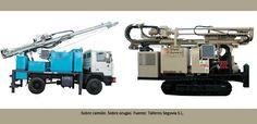 maquinaria principal, la maquinaria auxiliar y los medios auxiliares necesarios durante el proceso de ejecución de los micropilotes.