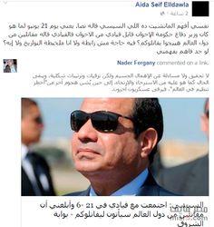 مدونة .. سيد أمين: فيديو .. نشطاء يتداولون سقطة كبيرة في خطاب السيسي ...