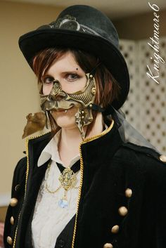 tumblr_l326pty6Q91qb4a0zo1_500.jpg | Crystaline : Steampunk Fashion Archives