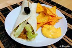 Petiscana: Burritos de chili com carne à Petiscana