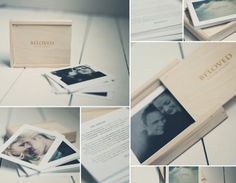 Elizabeth Halford | Packaging | Photography Gifts | Wooden Box | Fun way to deliver photos