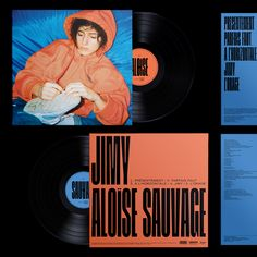Jimy – Aloïse Sauvage - Fonts In Use Music Covers, Album Covers, Typography Design, Lettering, Vinyl Sleeves, Artist Branding, Album Cover Design, Vinyl Cover, Music Artists
