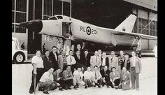 Rare!! AVRO ARROW Photo… before engines installed! | by Paul Cardin (Never Was An Arrow) Fighter Aircraft, Fighter Jets, Avro Arrow, Experimental Aircraft, Canadian History, Flight Deck, Aviation Art, Space Travel, Model Trains