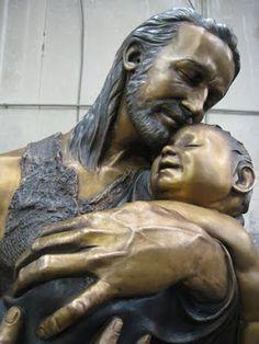 Magnificent St. Joseph sculpture. #Faith #StJoseph #Catholic