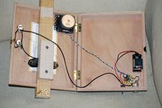 cigar box guitar with built in amp - Google Search