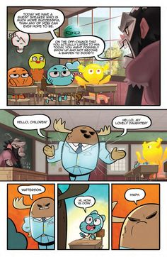 Preview: The Amazing World of Gumball #6,   The Amazing World of Gumball #6 Story: Frank Gibson Art: Tyson Hesse Cover A: Irene Flores Cover B: Marc Ellerby Cover C: Nneka Meyers Publi...,  #All-Comic #All-ComicPreviews #Boom!Studios #Comics #FrankGibson #IreneFlores #kaboom! #MarcEllerby #NnekaMeyers #Previews #THEAMAZINGWORLDOFGUMBALL #TysonHesse