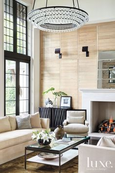 35 Amazing Fireplace Design Ideas LuxeDaily - Design Insight from the Editors of Luxe Interiors + Design Living Room Decor, Living Spaces, Living Rooms, Design Salon, Fireplace Design, Simple Fireplace, Fireplace Wall, Living Room Inspiration, Interiores Design