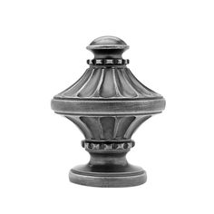 "2 1/4"" Imperial Finial. Antique Pewter."