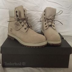 Timberland Pro Woman's Winter White Size 8 Timberlands 100% waterproof 6 inch boot. New with box. Never been worn. Timberland Shoes Winter & Rain Boots