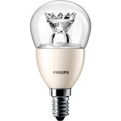 Ampoule LED unicolore Philips E14 6 W=40 W forme de goutte 1 pc(s)