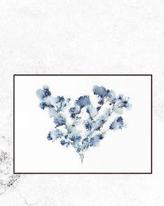All artwork by Trine Holbaek Designs Blue Walls, Dusty Blue, Map, Flowers, Artwork, Beautiful, Work Of Art, Auguste Rodin Artwork, Location Map