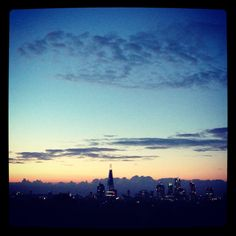 Vivid evening light over Peckham last night in #London 19°C I 67°F #BurberryWeather