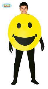 COSTUME-SMILE-Carnevale-Travestimento-Scherzi-Sorriso-Happy-Giallo-110-80773