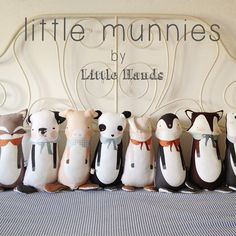 They are coming  Little Munnies by Little Hands
