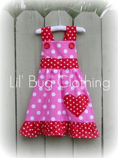 Pink and red and polka-dots all over