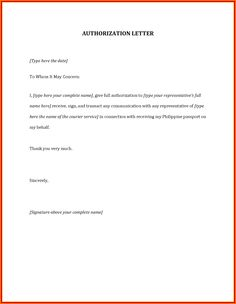 Authorization letter format for bank authorization letter authorization letter sample 10 best authorization letter samples and formats by spiritdancerdesigns Images