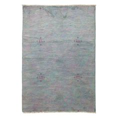 """Vibrance Collection Oriental Rug, 4'2"""" x 6'"""