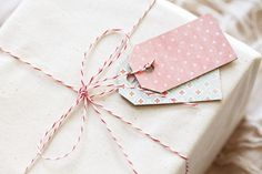 DIY Cereal Box Gift Tags - Offbeat & Inspired