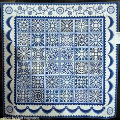 (4 unread) - excelsec - Yahoo Mail Two Color Quilts, Blue Quilts, Love Blue, Blue And White, Dear Jane Quilt, International Quilt Festival, Blue Words, Red And White Quilts, Traditional Quilts