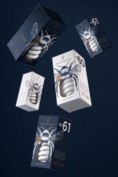 Il y a quelques mois de ça, je vous présentais une magnifique série de boîtes d'ampoules née de la collaboration entre la designerAngelina Pischikova et l