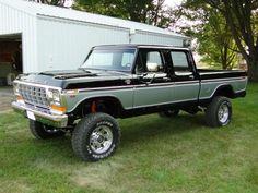 78/79 black crewcab
