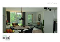 Visualisatie interieurontwerp   Arnhem Oversized Mirror, Windows, Interior Design, Furniture, Home Decor, Nest Design, Decoration Home, Home Interior Design, Room Decor